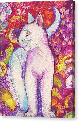 Pansy The Cat Canvas Print
