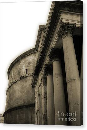 Pantheon Canvas Print by Angela DeFrias