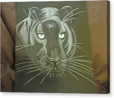 Panther Canvas Print by Danita  Higham