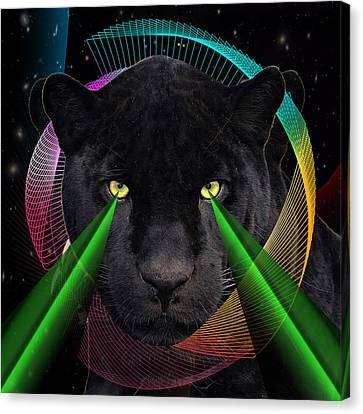Panther Canvas Print by Mark Ashkenazi