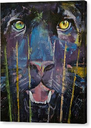 Panther Canvas Print by Michael Creese