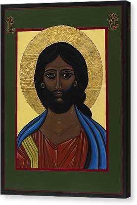 Pantocrator - Jesus Christ Canvas Print by Ilse Wefers