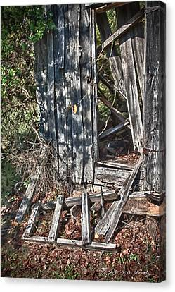 Papa Sandy's Storage Shed Canvas Print by James Woody