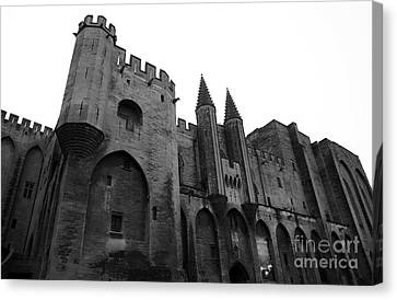 Papal Palace Canvas Print by John Rizzuto