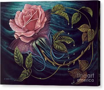 Papalotl Rosalis Canvas Print