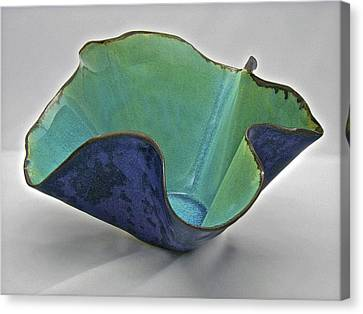 Paper-thin Bowl  09-006 Canvas Print by Mario Perron