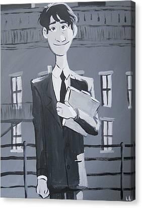 Paperman #1 Canvas Print by Lisa Leeman