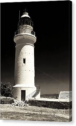 Paphos Lighthouse Canvas Print
