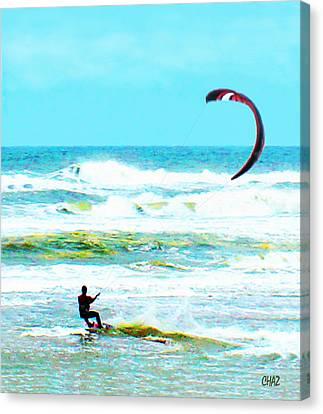 Para-surfer   Canvas Print