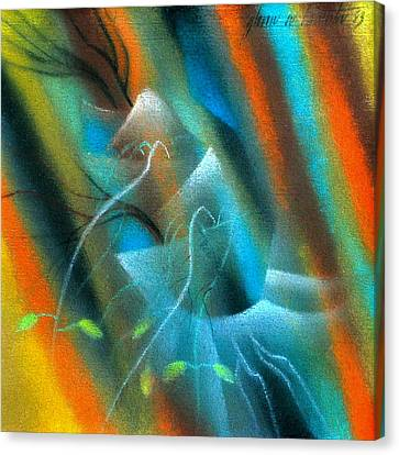 Parable Of The Sower '83 Canvas Print by Glenn Bautista