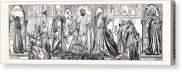 Parable Of The Ten Virgins Canvas Print