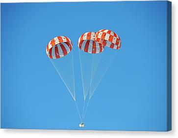 Parachute Test For Orion Spacecraft Canvas Print
