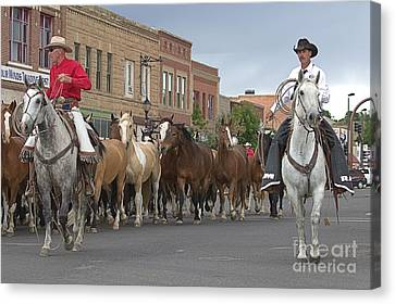 Parade Day Canvas Print