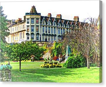 Parade Gardens Bath Canvas Print by Paul Gulliver