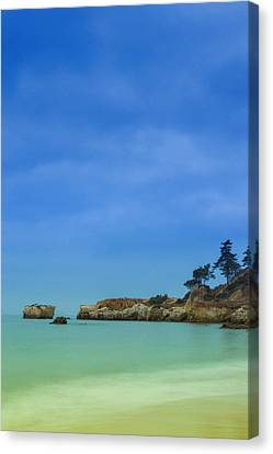 Paradise Beach Canvas Print by Marco Oliveira