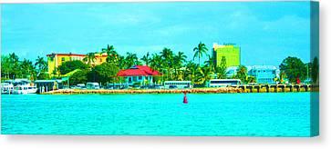Paradise Coast Canvas Print