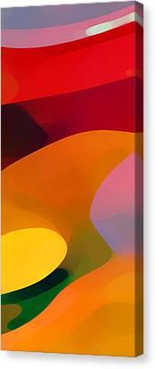 Paradise Found 1 Panel C Canvas Print by Amy Vangsgard