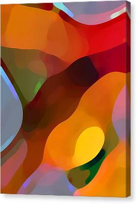 Paradise Found Tall Canvas Print by Amy Vangsgard