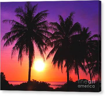 Paradise Is Waiting Canvas Print
