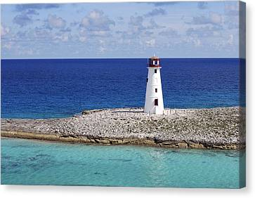 Paradise Lighthouse Canvas Print