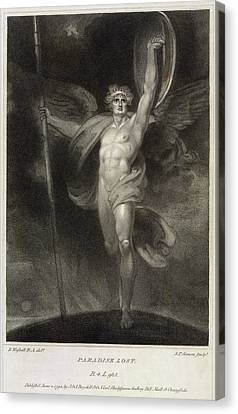 J.p Canvas Print - Paradise Lost by British Library