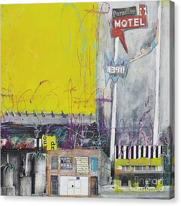 Paradise - Open Canvas Print by Elena Nosyreva