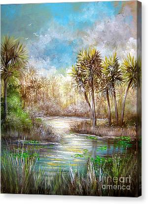 Paradise Canvas Print by Patrice Torrillo