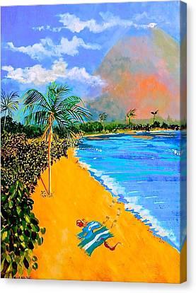Paradise Canvas Print by Susan Robinson