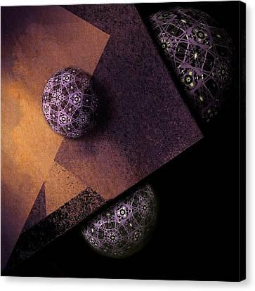 Canvas Print featuring the digital art Paragon by Susan Maxwell Schmidt