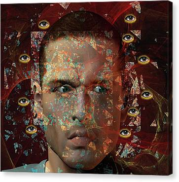 Paranoia Canvas Print by Carol & Mike Werner