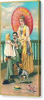 Parasol 1889 Canvas Print by Padre Art
