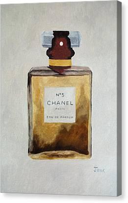 Parfum No.5 Canvas Print by Rebecca Jenkins