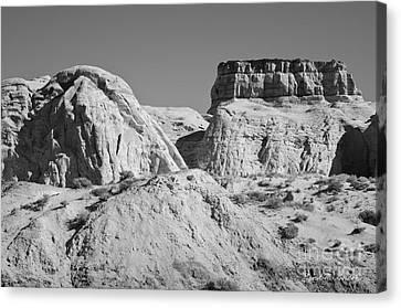 Rimrock Canvas Print - Paria Utah Vi by Dave Gordon