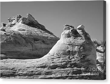 Rimrock Canvas Print - Paria Utah Vii by Dave Gordon