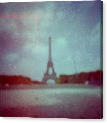 Paris Canvas Print by Alex Conu