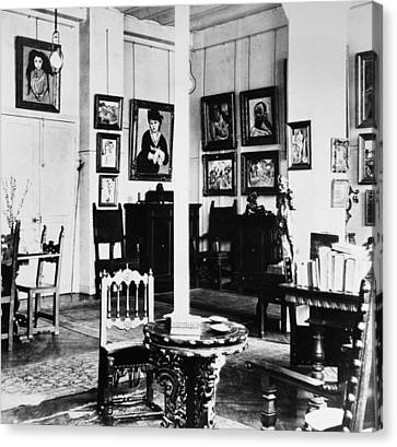 Paris Art Collection, 1908 Canvas Print by Granger