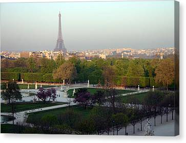 Paris Autumn Canvas Print by A Morddel