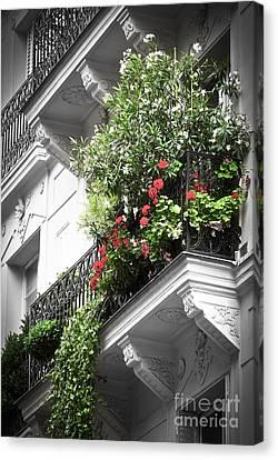 Paris Balcony Canvas Print