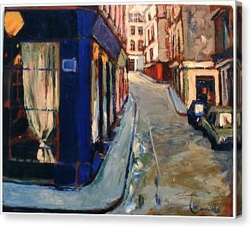 Paris Cityscape Canvas Print