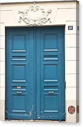 Paris Door Canvas Print by Georgia Fowler