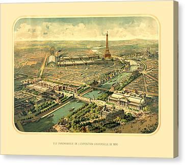 Paris Exposition Canvas Print by Gary Grayson