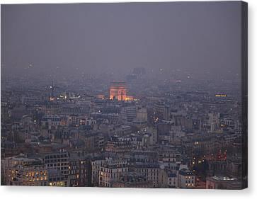 Paris France - Eiffel Tower - 011318 Canvas Print by DC Photographer
