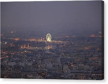 Metropolis Canvas Print - Paris France - Eiffel Tower - 011321 by DC Photographer