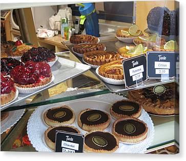 Paris France - Pastries - 121210 Canvas Print