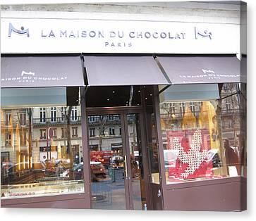 Paris France - Pastries - 1212114 Canvas Print by DC Photographer