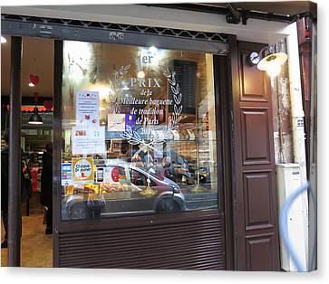 Chocolate Canvas Print - Paris France - Pastries - 121234 by DC Photographer