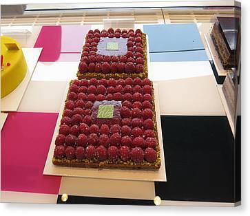 Chocolate Canvas Print - Paris France - Pastries - 121283 by DC Photographer