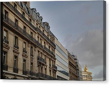 Paris France - Street Scenes - 0113101 Canvas Print by DC Photographer