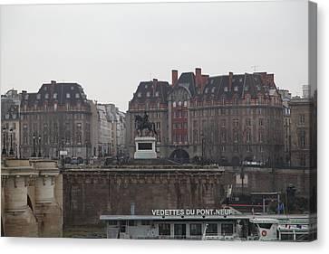 Paris France - Street Scenes - 011344 Canvas Print by DC Photographer