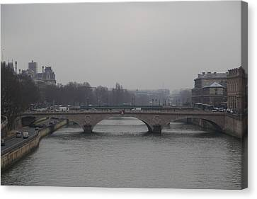 Paris France - Street Scenes - 011349 Canvas Print